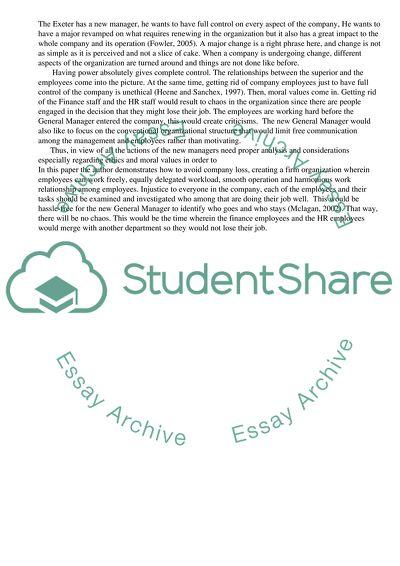 Business Ethics College Essay