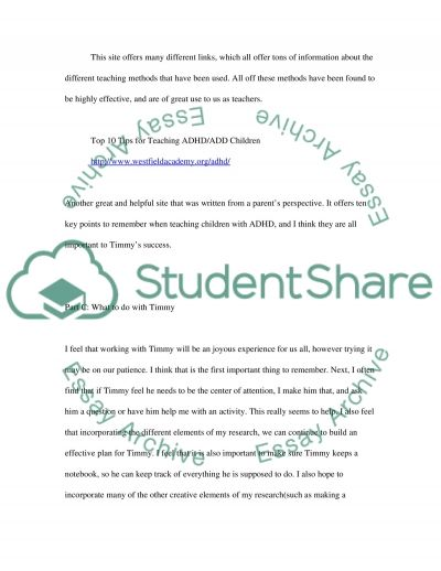 Special education (special needs students in regular classes) essay example