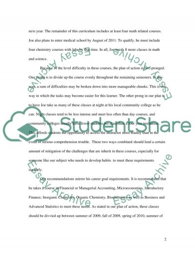 Vocational Learner's Mathematical Knowledge essay example
