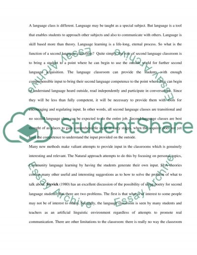 How may the teacher encourage more learner involvement in the lesson essay example