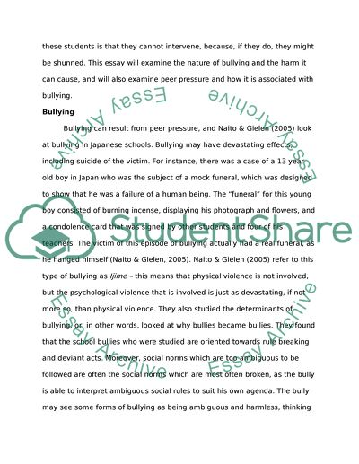 Sample Essay English Peer Pressure Thesis Example Essay also The Newspaper Essay Peer Pressure Essay Example  Topics And Well Written Essays    Sample Of English Essay