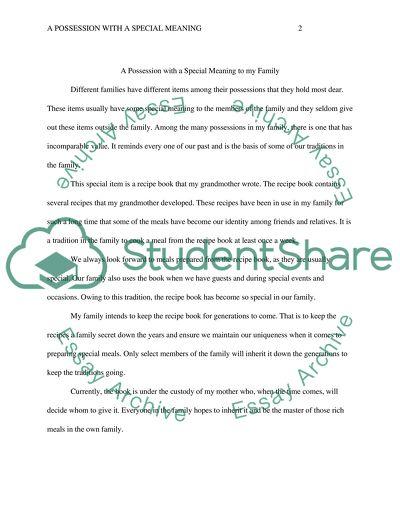 5 sentance essay