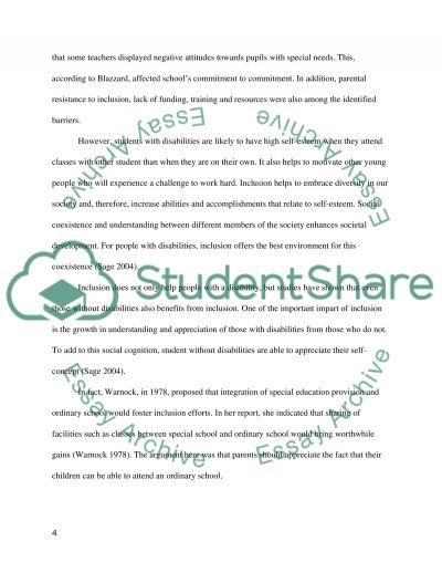 is inclusion a failed ideology essay example topics and well   text preview