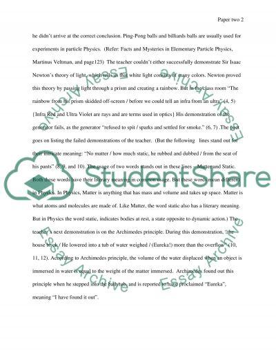 The teacher and the failures