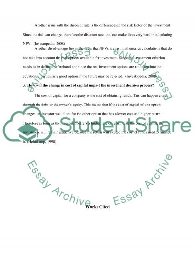 Utilizing the Time Value of Money Essay example