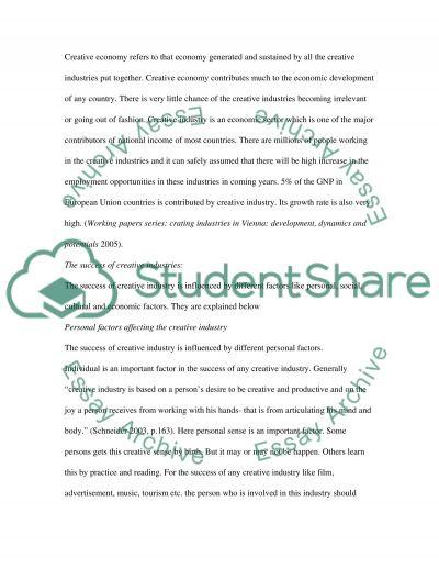 Entrepreneurship College Essay essay example
