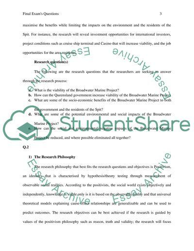 Final exam case studys answers