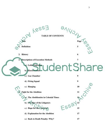 Capital Punishment Essay Example  Topics And Well Written Essays  Capital Punishment