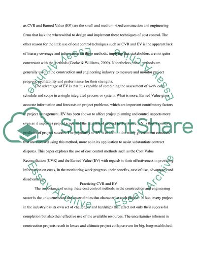 Estimating Purchasing and Cost Control Essay Example | Topics and