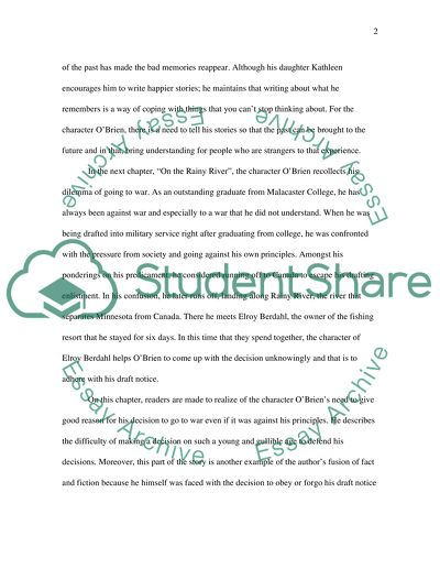 Yellow Wallpaper Analysis Essay The Things They Carried By Tim Obrien What Is A Thesis In An Essay also Health And Fitness Essay The Things They Carried By Tim Obrien Essay Example  Topics And  English Literature Essay Structure