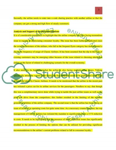 Recommendations Solution for Marketing Issues essay example