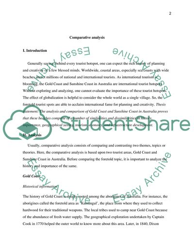 Essay Cause And Effect Comparative Analysis  Essay Example Essay On King Lear also Similarity Essay Comparative Analysis Essay Example  Topics And Well Written Essays  Mental Health Essays