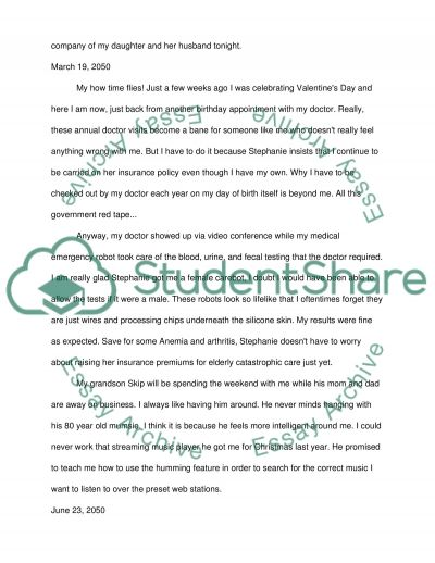 24 Hour Diary Entry essay example
