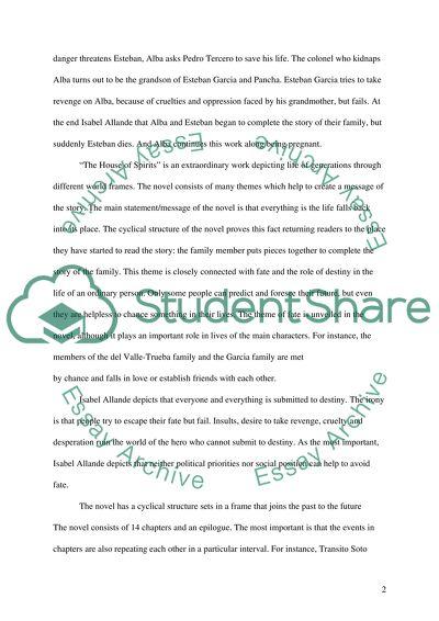 Literature High School Essay