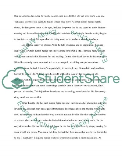 Life is Short essay example