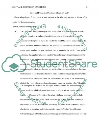 example of essay test