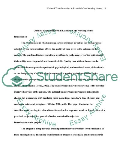 Response to literature model essay