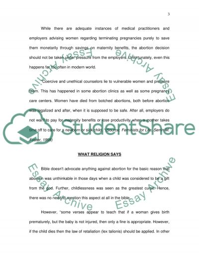 arguments against abortion essay essay about against abortion arguments for and against abortion in