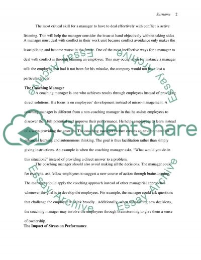 MGMT essay example