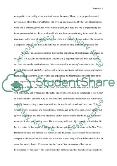 eveline james joyce research paper example topics and well  eveline james joyce essay example