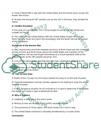 Informative Speech Outline Research Paper Example | Topics And