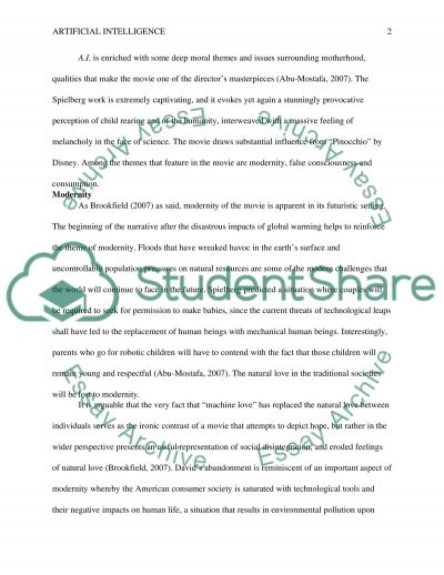 Film analysis essay example