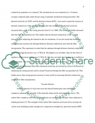 Comparimg Rigidising Methods Using Reenforced Material essay example