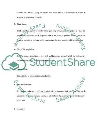 Statistics Problems Speech or Presentation Example | Topics