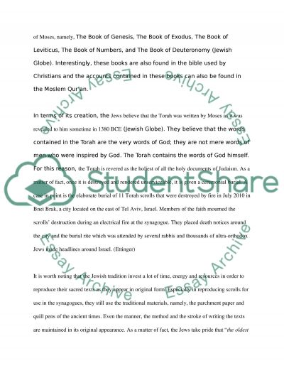 judaism essay conclusion Judaism as stated by the quote is a religion of action, setting an example and spiritual connection to the world individuals and the jewish community are influenced by a variety of life's aspects that help create complexity and significance in.