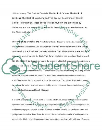 Judaism and Islam essay example