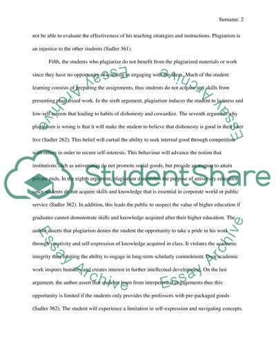 Internet plagiarism among college students