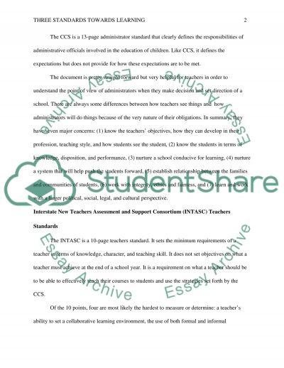 Education and Testing Standards--Wisconsin essay example