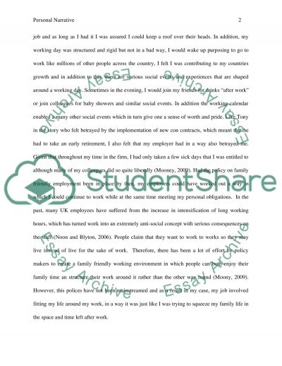 Task 2 entails writing an essay of 14001500 words which reflects on your personal narrative in order to illuminate and explore concepts and ideas about work and/or citizenship