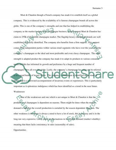 Moet & Chandon - Integrated marketing communications plan essay example