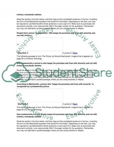 Literacy evidence questions essay example