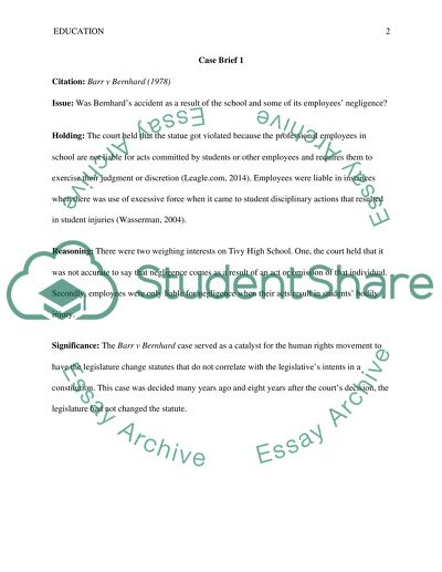 Case Study Assignment Example   Topics and Well Written