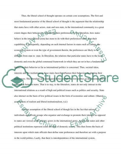 international affairs relations essay Sample of cold war and international relations essay (you can also order custom written cold war and international relations essay.