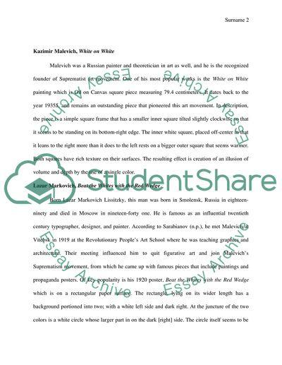Comparing essay