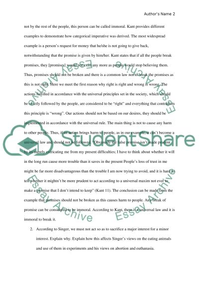 Philopsphy paper essay example