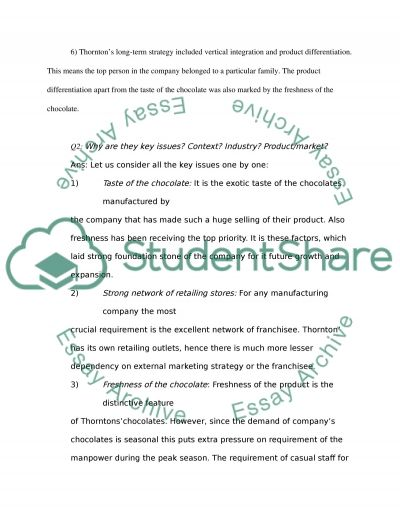 Corporate strategy paper exam Essay example