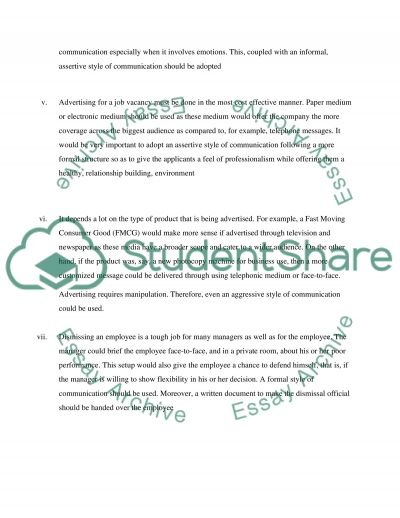 ASSIGNMENT1-THE PROCESS &PURPOSE OF COMMUNICATION essay example