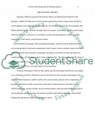 persuasive essay on outsourcing jobs to foreign countries Assignment 2: persuasive paper part 1: a problem exists should the us government prohibit companies from outsourcing jobs to people in foreign countries.