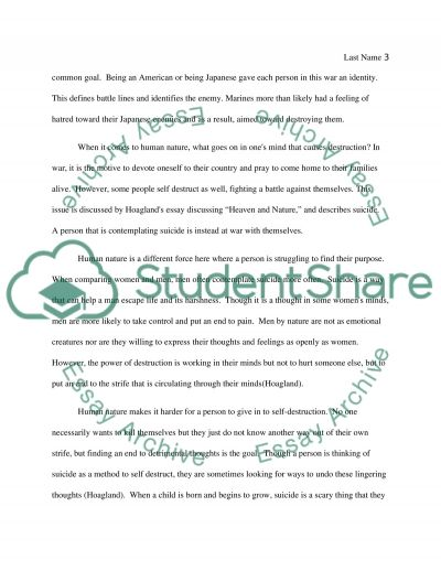 the other nature essay The best of english essays title  so different from each other,  when we regard every production of nature as one which has had a long history.