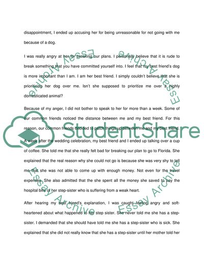 Argument Essay Example | Topics and Well Written Essays - 500 words - 1