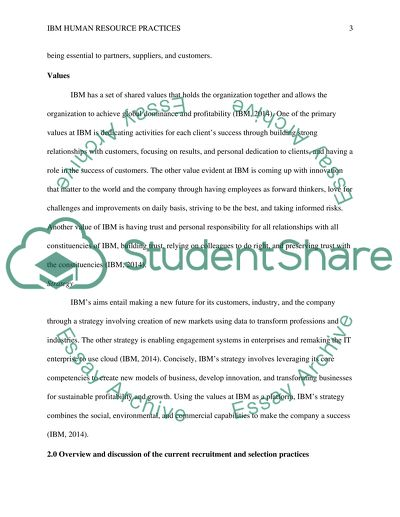 IBM academic report