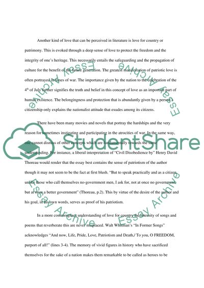 Thesis Statement Examples For Argumentative Essays  Essay On English Literature also Best English Essay Topics The Theme Of Love In Literature Essay Example  Topics And  Essays About Science