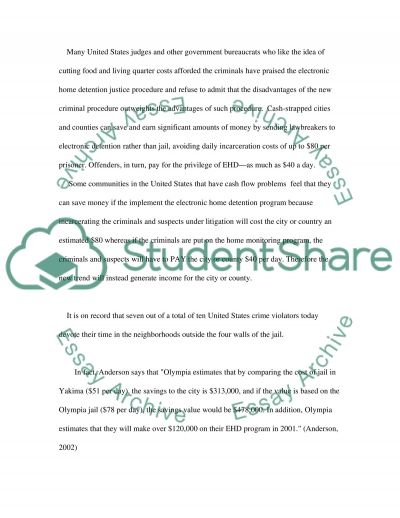 Home monitoring essay example