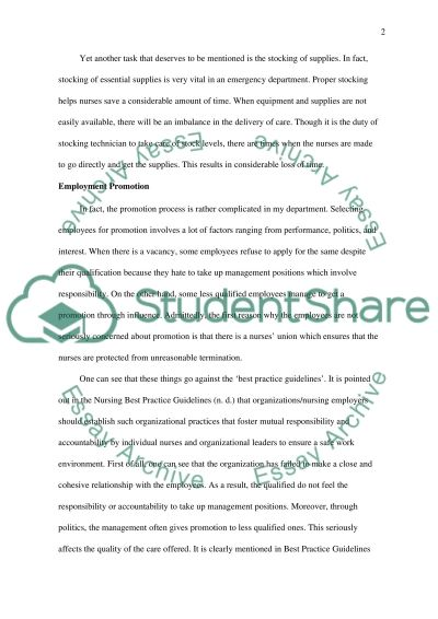 Job Description and Appraisal essay example