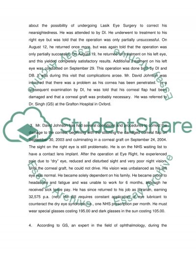Professional Negligence essay example