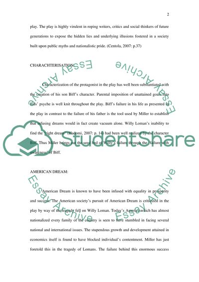 Political Science Essay Death Of A Salesman Business Plan Essay also Terrorism Essay In English Death Of A Salesman Essay Example  Topics And Well Written Essays  Science Essay Questions